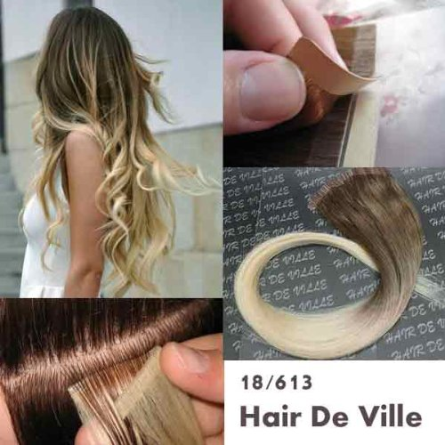 Best hair extensions for thin hair sandra downie thin hair you can spice up the things a little bit with the 40 pieces 20 inches ombre two tone tape in skin weft aaa remy human hair extensions color pmusecretfo Choice Image