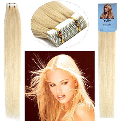 Best hair extensions for thin hair sandra downie as they look so natural and are high quality the yotty hair extensions tape in seamless skin weft remy human hair give your thin hair a natural volume and pmusecretfo Images