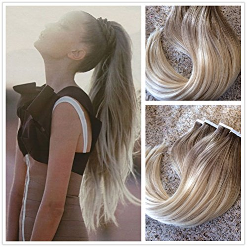 Best hair extensions for thin hair sandra downie for the delicate yet sleek looking fine thin hair a good option to add some volume and more length is the moresoo 14 inch 100g multi color ash brown to pmusecretfo Choice Image