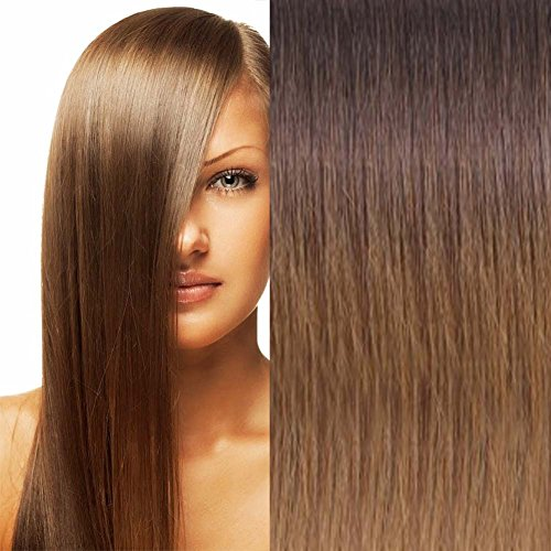 Best hair extensions for short hair sandra downie its the case of the premium human hair extension weft 20 straight that add volume and length to your thin short hair without causing any damage or adding pmusecretfo Images