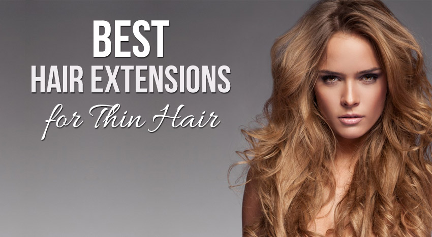Weave Extensions Thin Hair 55