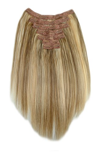 Best clip in hair extensions sandra downie the hair extensions are made with 100 collected remy human hair and bring to your hair a nice length and a pretty good volume just as well pmusecretfo Gallery