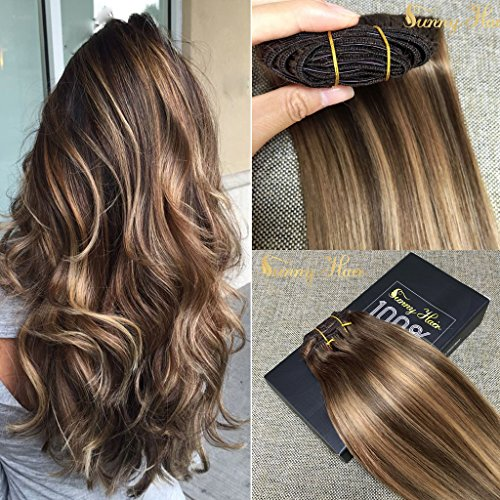 Best clip in hair extensions sandra downie the hair extensions are made with remy human hair and are a pretty good quality the hair may be styled in many ways and you can wash it pmusecretfo Choice Image